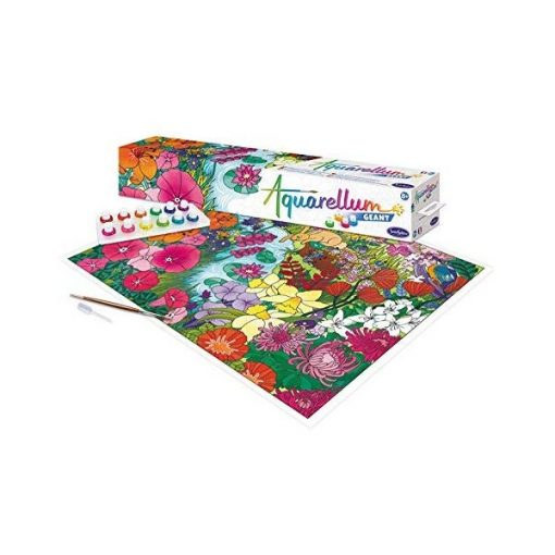 Aquarellum óriáskép készítő, virágoskert - Sentosphere SA6801