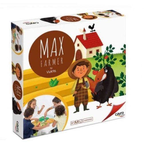Max Farmer - kooperációs társasjáték (3-5 év)