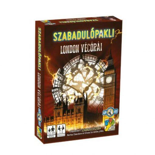 Szabadulópakli: London végórái 12-99