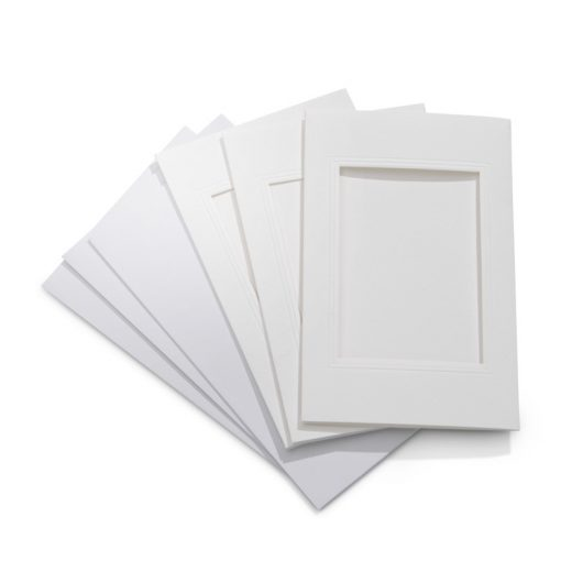 Encaustic Képkeret papírból, borítékkal, 3 db-os, téglalap   (11 x 18 cm)