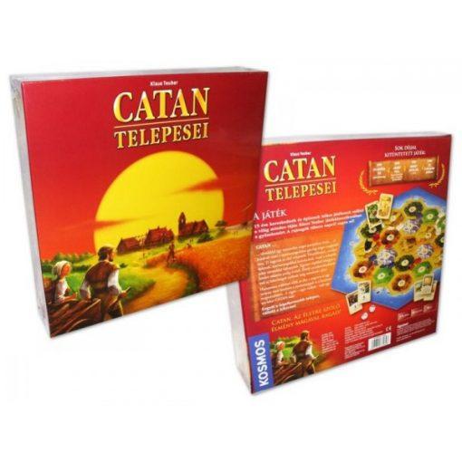 Catan telepesei alapkészlet - társasjáték