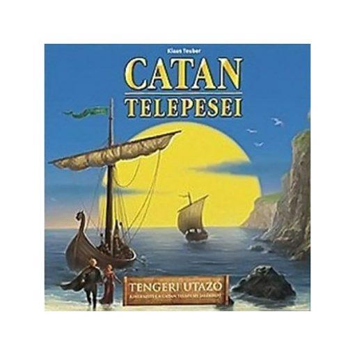 Catan - Tengeri utazó, kiegészítő a Catan telepesei társasjátékhoz