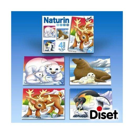 Naturin sarki állatok puzzle - Diset DS69218
