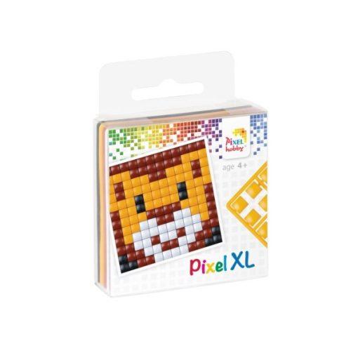 Pixel XL szett - Oroszlán (6x6cm alaplap, 4 szín)