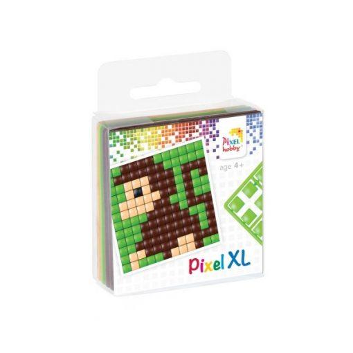 Pixel XL szett - Majom (6x6cm alaplap, 4 szín)