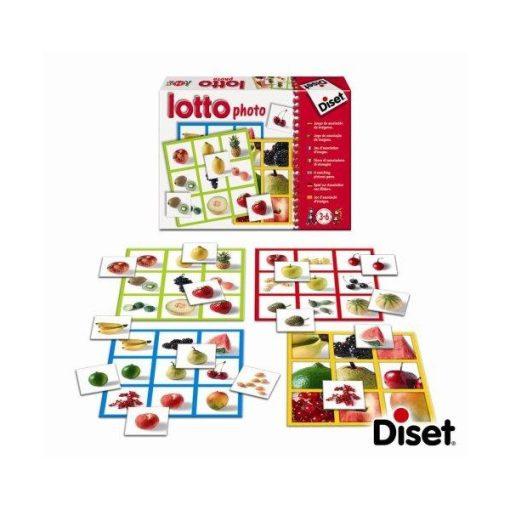 Gyümölcsös párosítójáték, fényképes, DISET DS63687 / 68943