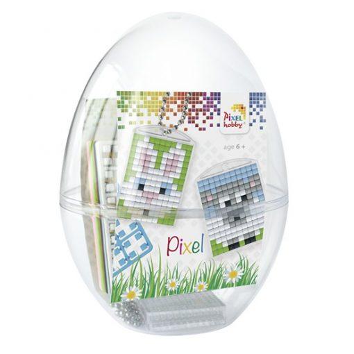 Pixel Húsvéti tojás - 2. Nyuszi-Bárány