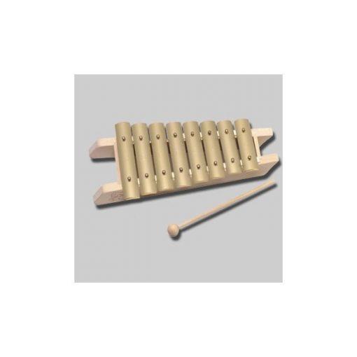 Auris harangjáték, diatónikus, 8 hangú (c'-c)