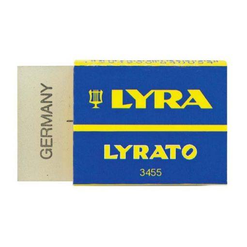 LYRA radír minta nélkül, közepes papíros