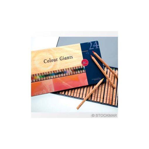 24 színű ceruza fém dobozban - Art-makes/Stockmar