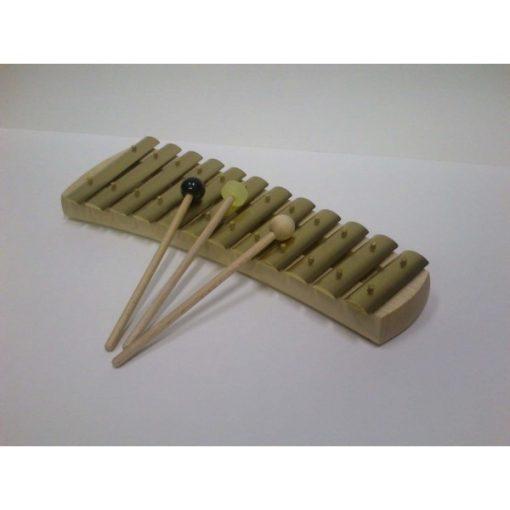 Auris harangjáték, diatonikus, 12 hangú (c-g)