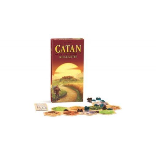 Catan telepesei kiegészítő, 5-6 játékos részére