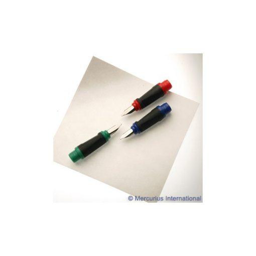 Töltőtoll-fej készlet kaligrafikus 3 méret      wawa