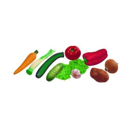 Zöldségek, 11 db-os, MINILAND, ML30582-3