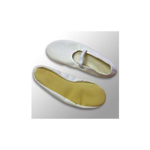 Euritmia cipő, 46-os, fehér, NAGY MÉRET