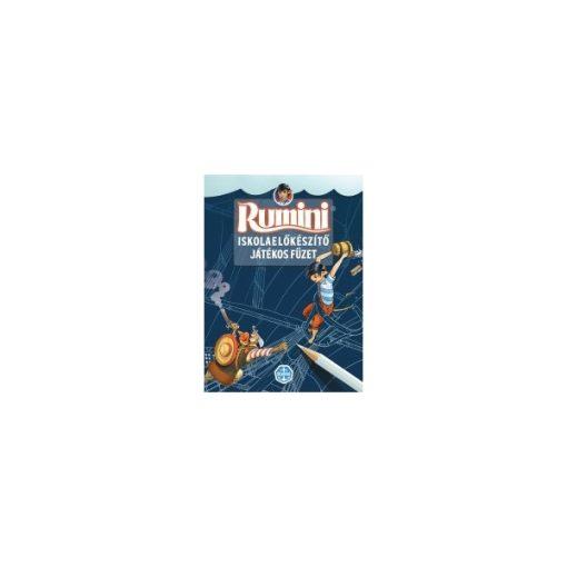 Rumini - Iskolaelőkészítő játékos füzet, 4+