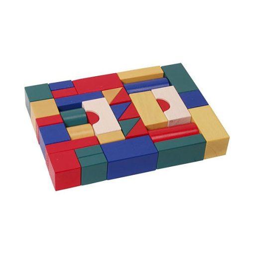Építőkocka színes 4 cm-es