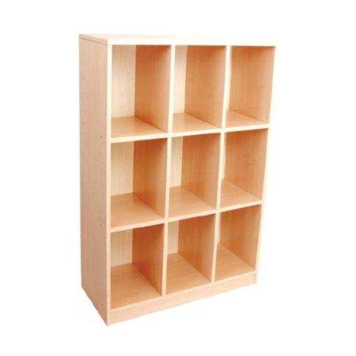 MB100 301 9 rekeszes szekrény 3 szintes