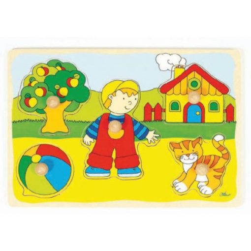 Kisfiús puzzle - GOKI GK57858
