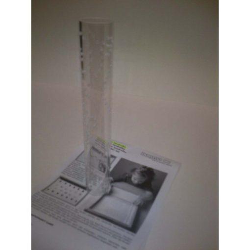 Csillagminta készítő műanyag henger, DU003