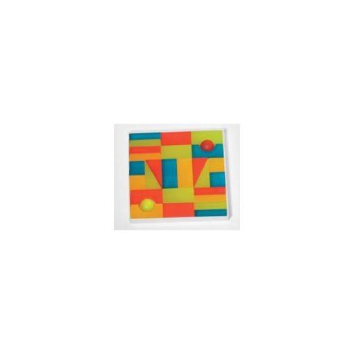 Színes átlátszó építő kocka, DU012