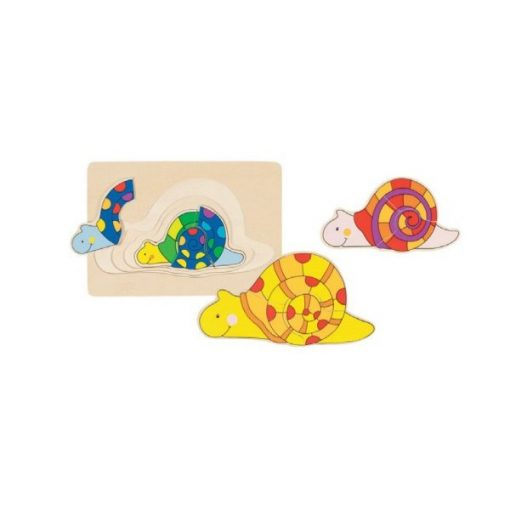 Csigás puzzle - GOKI GK57898