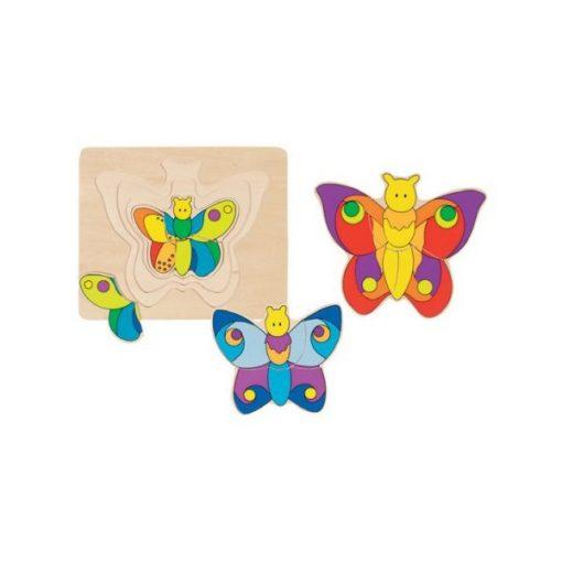 Pillangó puzzle - GOKI GK57899