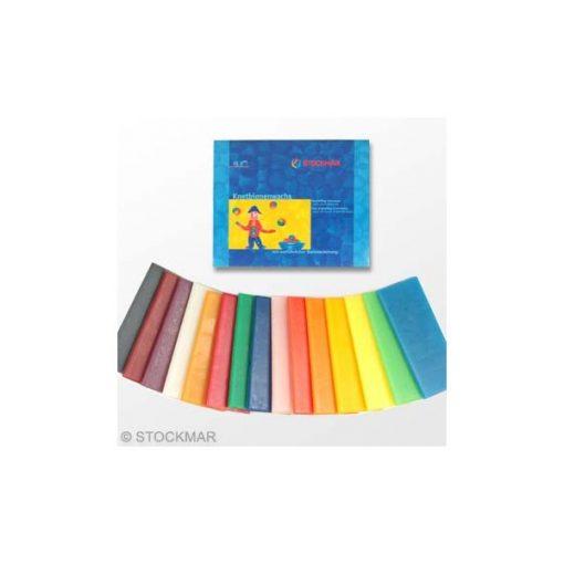 Stockmar Méhviaszgyurma 15 színű, 315 g
