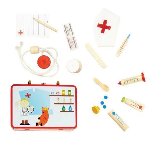 Doktorszett dobozos (orvosi táska)