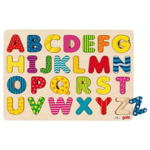 Színes ABC puzzle - GOKI GK57672