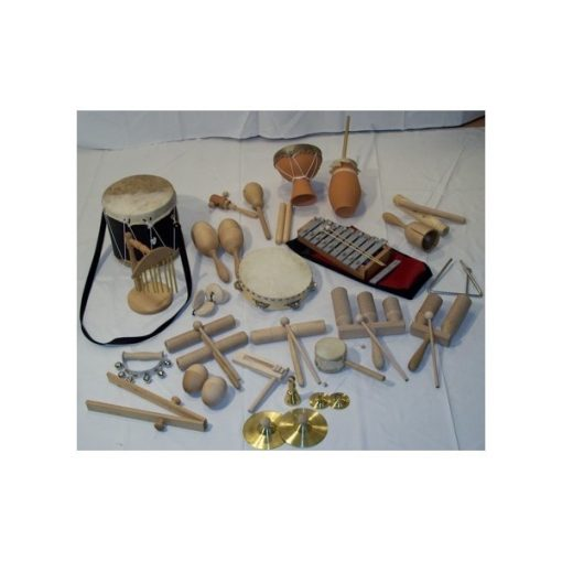 Ritmuskészlet - Óvodai, 26 db-os hangszerkészlet