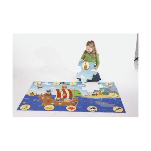 Óriás puzzle szőnyeg - Kalózos - HOK11316