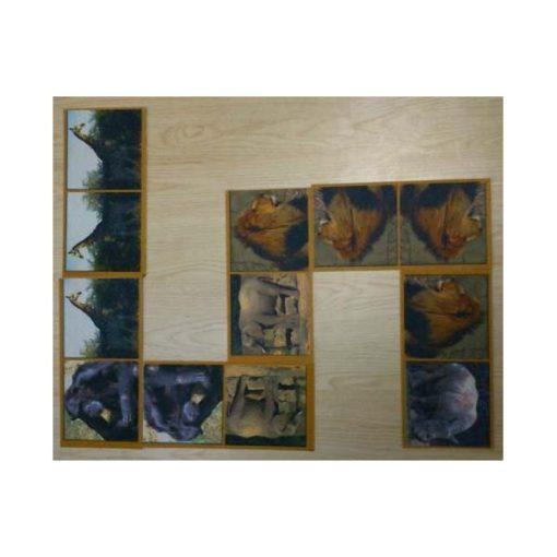 Óriás dominó szőnyeg - Szavanna - HOK11311