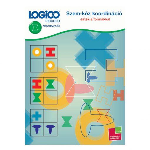 Szem-kéz koordináció: játék a formákkal - LOGICO Piccolo