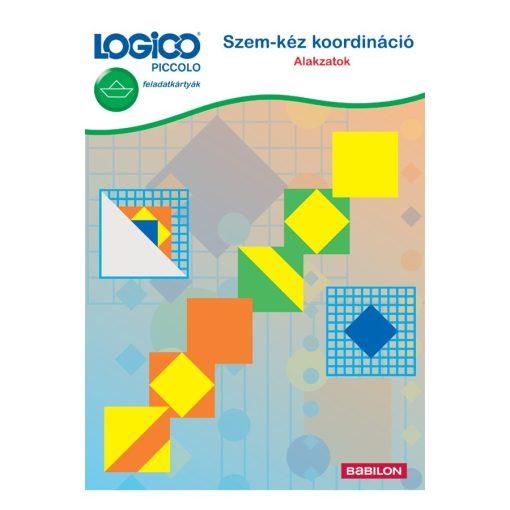 Szem-kéz koordináció: alakzatok - LOGICO Piccolo