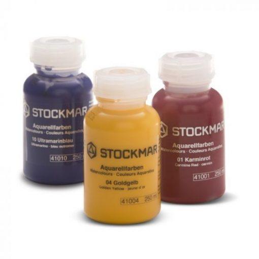 Aquarell 250 ml, 36 szaftzöld festék - Stockmar