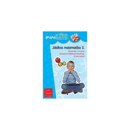 Játékos matematika 3., Mini - LÜK LDI220