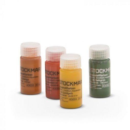 Aquarell 20 ml, 55 színkör, sárga - Stockmar
