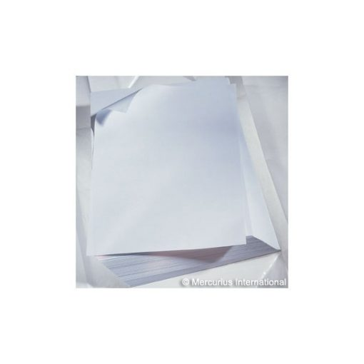 Rajzlap - kis csomag, 120 g, A/3, 20 db, fehér - Mercurius