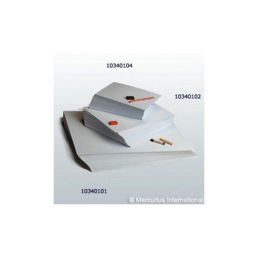 Rajzlap - kis csomag, 120 g, A/4, 20 db, fehér - Mercurius