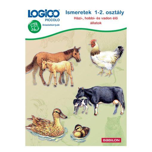 Házi-, hobbi- és vadon élő állatok - LOGICO Piccolo