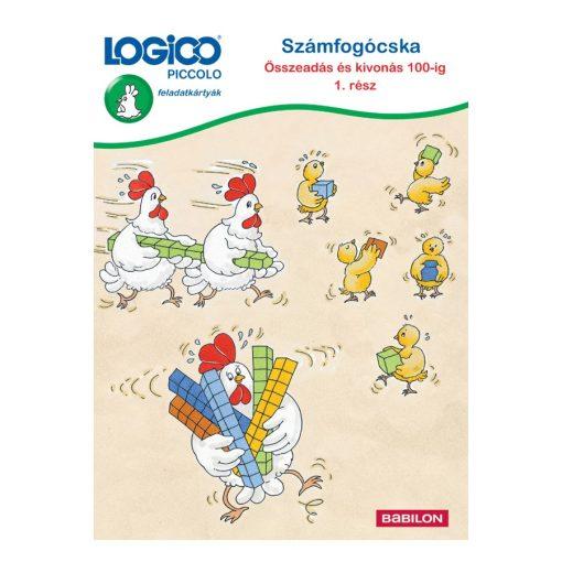 Számfogócska, összeadás és kivonás 100-ig, 1. rész - LOGICO Piccolo